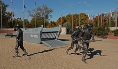 Scenes From the 2018 Midwest Road Trip (J.P. EVERETT) Tags: andrew jackson higgins national memorial columbus nebraska lcvp landing craft vehicle personnel wwii korea vietnam statue