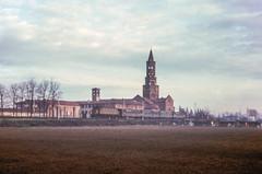 FS E 428 Milano Chiaravalle 1978. Foto Roberto Trionfini (stefano.trionfini) Tags: train treni bahn zug fs e428 milanochiaravalle lombardia italia italy