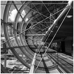 Charles de Gaulle Airport #56 (Streets.and.Portraits) Tags: architecture airport paris charlesdegaulle france monochrome blackwhite blackandwhite iphone roissyenfrance îledefrance fr