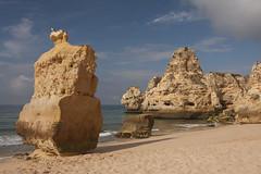 Praia da Marinha - Algarve - Portugal (mariandeneijs) Tags: algarve portugal rock rocks rotsen rots strand beach praia praiadamarinha marinha cliff landscape
