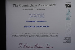 19th January 2019 (themostinept) Tags: cunninghamamendment print publication pamphlet booklet letterpress words text page 2018 volume17number4