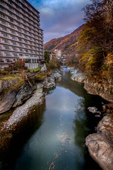 Minakami river runs through it (kellypettit) Tags: minakami river hotel fall autumn coloursoffall fallcolours autumncolours japan gunma resort getaway
