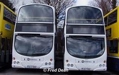 Dublin Bus VG9/10 (08D70009/10). (Fred Dean Jnr) Tags: dublin april2010 dublinbus busathacliath broadstonedepotdublin broadstone buseireannbroadstonedepot volvo b9tl wright wrightbus eclipse gemini vg9 vg10 08d70009 08d70010