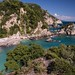 Piso Krioneri Beach. Parga. Greece