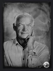 le penseur (LA CAGE AUX FAUVES) Tags: vintage oldpict ambrotype ferrotype portrait nb collodion