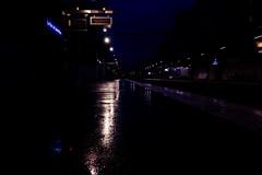 my station (laurent.triboulois) Tags: station nuit paris train subway blue