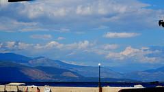 DSC03729 (omirou56) Tags: 169ratio sonydschx60v sky clouds mountains sea greece συννεφα ουρανοσ βουνα ελλαδα