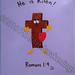 """""""He Is Risen"""" by Carol J, acrylic, $20.00"""