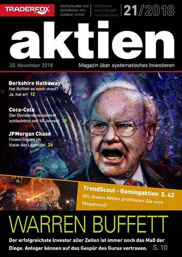 Warren Buffet cover