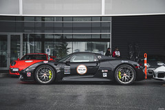 Porsche 918 (Dylan King Photography) Tags: porsche 911 993 964 996 997 991 918 rwb rauhwelt begriff rauhweltbegriff wide body custom customized modified rothmans livery jagermeister martini langley center vancouver bc british columbia canada