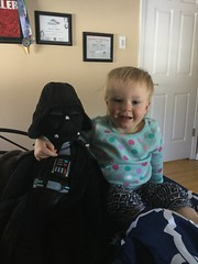"""Dani Poses with Darth Vader • <a style=""""font-size:0.8em;"""" href=""""http://www.flickr.com/photos/109120354@N07/46207350114/"""" target=""""_blank"""">View on Flickr</a>"""