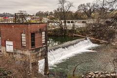 Walker Mill Hydroelectric Station (Back Road Photography (Kevin W. Jerrell)) Tags: nationalregisterofhistoricplaces seviercounty sevierville tennessee nikond7200 backroadphotography historic daysgoneby dams hydroelectric oldbuildings