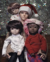 Family Photo 2018 (@AdanneO) Tags: iplehouse boris iplehouseboris harucasting adori geuru glowpeachgold cacaotan cacao tan moistbeige bjd dollsofcolor yosd msd