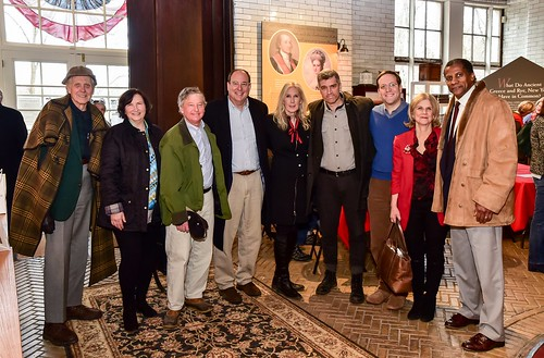 Revolutionary Westchester 250 Team - John Jay DuBois, Mary Jane Shimsky, Steve Otis, Chuck Lesnick, Suzanne Clary, Jeremy Davidson, David Buchwald, Shelley Mayer and Olney Reynolds