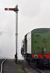 Raising Steam (simmonsphotography) Tags: railway railroad nenevalley heritage preservation locomotive engine train steam uksteam 60163 tornado peppercorn a1 lner pacific newbuild wansford