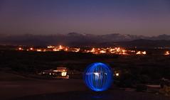 Lightsphere Atlas (Robert Mehlan - Munich) Tags: canon5dmkii atlasgebirge atlas longtimeexposure landschaft marokko marocco robertmehlan lightball lichtmalerei