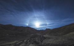 The Badlands has a Halo (CraDorPhoto) Tags: canon5dsr landscape halo sun barren hills mountains deathvalley usa california