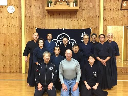Visiting Fukuda Sensei's Dojo