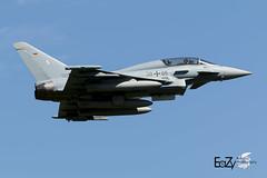 30+05 German Air Force (Luftwaffe) Eurofighter Typhoon (EaZyBnA - Thanks for 2.500.000 views) Tags: 3005 germanairforce luftwaffe eurofightertyphoon bundeswehr taktischesluftwaffengeschwader taktlwg31 oswaldboelke boelke nordrheinwestfalen nörvenich nor nörvenichairbase airbasenörvenich fliegerhorstnörvenich militärflugplatznörvenich fliegerhorst deutschland lowapproach eazy eos70d ef100400mmf4556lisiiusm europe europa 100400mm 100400isiiusm canon canoneos70d ngc nato nrw military militärflugplatz mehrzweckkampfflugzeug militärflugzeug autofocus airforce aviation airbase air approach warbirds warplanespotting warplane warplanes wareagles planespotter planespotting plane luftstreitkräfte luftfahrt eurofighter eurofighteref2000typhoon typhoon flugzeug jet jetnoise kampfflugzeug ef2000 etnn