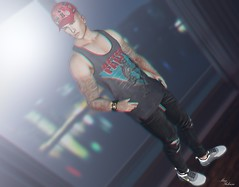 LOTD ♛ 192 ♛ (MauMau_Yakusa) Tags: exclusiv events man cave cap for hxnor tank chuck size tattoo taox sneakers native urban sunny studio catwa signature 22blog followers store body mesh mainstore marketplace applier color texture persone ritratto sensuale colore second life avatar photography photographyblog game blogsecondlife blog blogger bento head fashion accessories beautiful genus sllooksgoodtoday slfashion bloggingsl blogging bloggers bloggin portrait people photo picture secondlifefashion secondlife secondlifeblog retrato spammer spam slphotography snapshot virtuallife virtualworld lindenlabs virtualphotograhy