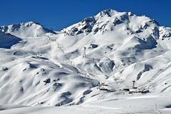 Davos, Switzerland (jamesalexandermichie) Tags: snow skiing switzerland davos resort ski skier mountains landscape sky blue white winter cold