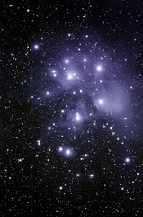 Pleiades (M45) Star cluster ([-ChristiaN-]) Tags: space stars pleiades sevensisters starcluster m45 plejaden