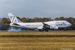"[ORY] Wamos-Air  ""15 Years Sticker"" Boeing 747-419 _ EC-MDS (thibou1) Tags: thierrybourgain ory lfpo orly spotting aircraft airplane nikon d810 tamron sigma wamos boeing boeing747 b747 b747419 ecmds b747400 wamosair landing norwegian newyork 15yearssticker"