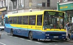 Dublin Bus AD63 (94D33063). (Fred Dean Jnr) Tags: april2005 dublin dublinbus busathacliath dublinbusyellowbluelivery oconnellstreetdublin dublinbusroute122 ad63 94d33063 daf sb220 alexander setanta
