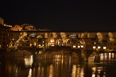 Ponte Vecchio (Not So Dusty) Tags: travel history bridge florence italy water night