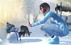 ● 1514 Beautiful little Snowman (Mɪss Dɪᴀᴢ) Tags: lepoppycock addams phoenix seductionfair sweetthing theliaisoncollaborative