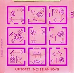 Buzzcocks - Noise Annoys (1978) (stillunusual) Tags: buzzcocks loveyoumore noiseannoys single vinyl sleeve artwork picturesleeve punk punkrock newwave postpunk bside 1970s 1978