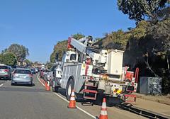 SDGE Truck 12-19-18 (2) (Photo Nut 2011) Tags: california truck sdge bucketlift orangecounty lagunabeach