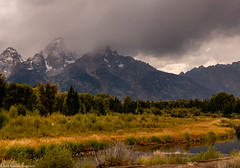 Passing Cloud (Ramona H) Tags: grandtetonnationalpark schwabacher schwabacherlanding tetons wy wyoming nationalpark