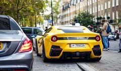 Black and yellow (Richard Nico) Tags: ferrari f12tdf f12 tourdefrance v12 limitededtion supercar sportcar exotic luxury car carspotting automobile automotive photography london