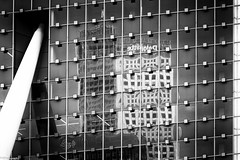 windows & reflection (fhenkemeyer) Tags: happywindowwednesday hww netherlands rotterdam abstract reflection windows