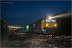 Carrascalejo. (pazalberto269) Tags: nikon natural night ferrocarril photography power paisajes extremadura obra renovacion via diésel 319 spain