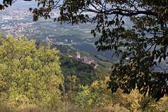 Blick zur St. Leonburg (uwelino) Tags: südtirol italien lana altoadige trentina naraun sthippolyt völlan europa europe südeuropa festung burg burgruine 2018 sommer tisens