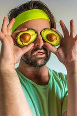Avocaojos (Chris Ram Photo) Tags: avocado funny humor kosta photo portrait santamonicacollege series smc photography advertisement advertising ad