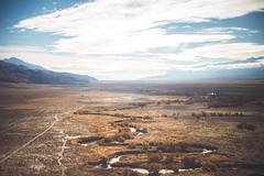 Owens River (Shutter Theory) Tags: owensvalley owenslake owensriver california eventhewatercommutestolosangeles waterwars cadillacdesert delta river aerial