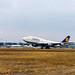 Frankfurt Airport: Lufthansa Boeing B747-430 B744 D-ABVR