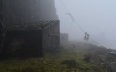 Dinorwig (norman preis) Tags: normanpreis 2018 fforio explore exploring dmeurig llanberis chwarel chwareli quarry llechi slate snowdonia dinorwig dinorwic niwl cwmwl cloud mist abandoned derelict derelicte lost closed blondin aerial ropeway welsh heavy industry industrial post past diwydiant cymraeg
