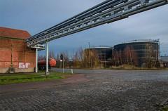 Blue gate III (jefvandenhoute) Tags: belgium belgië belgique antwerp antwerpen blue gate industrialarcheology industrial nikond800 light
