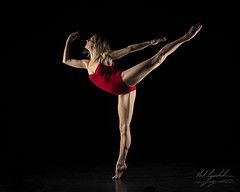Alexa Arabesque (neil.lynchehaun) Tags: andrewappleton appletonphototraining alexahilton dance ribbons red alexa ballet ballerina