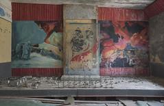 Duga Fire Station (Sean M Richardson) Tags: abandoned diorama duga chernobyl exclusion zone ukraine mini model firestation decay details canon photography explore urbex historic history