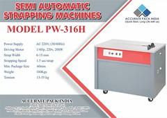 Semi Automatic Strapping Machines (accuratepackindia2019) Tags: semi automatic strapping machines