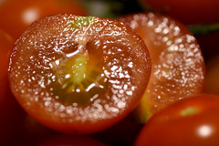 tomato face (23/365) (werewegian) Tags: red cherry tomato vine werewegian jan19 face sliced 365the2019edition 3652019 day23365 23jan19
