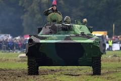 BVP-2 - Czech Republic Army @ LKMT (stecker.rene) Tags: czecharmy bvp2 bmp2 ifv infantry fighting vehicle tracked military headon salute armoured schützenpanzer gefechtsfahrzeug battle combat 30mm cannon 2a42 7 62mm mg coaxial tank panzer typ2 nato army natodays 2017 natodays2017 canon eos7d markii tamron 150600mm lkmt osr ostrava morava czech republic cra afv ground forces landstreitkräfte soldier mosnov