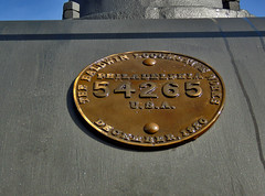 Build Plate on B&O 476 (George Neat) Tags: bo 476 oakland md maryland steam locomotive train railroad museum display transportation 280 caboose vehicle garrett county georgeneat patriotportraits neatroadtrips