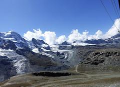 D20011.  From the Gornergratbahn. (Ron Fisher) Tags: schweiz suisse svizzera switzerland kantonwallis valais cantonvallese europa europe zermatt mountain snow glacier gletcher diealpen thealps swissalps alpessuisses schweizeralpen alpisvizzere sony sonyrx100iii sonyrx100m3 compactcamera