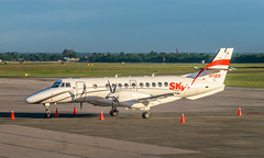 Sky High Jetstream 41 (SDQ) (ruifo) Tags: nikon d810 nikkor afs 24120mm f4g ed vr santo domingo las américas americas international airport sdq mdsd dominican republic república republica dominicana airplane aircraft aeronave avion avión aviao avião aviacion aviación aviacao aviação aviation spotting spotter gate parked sky high services bae jetstream 41 hi1038 caribe caribbean